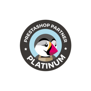 Logo PrestaShop partner Platinum